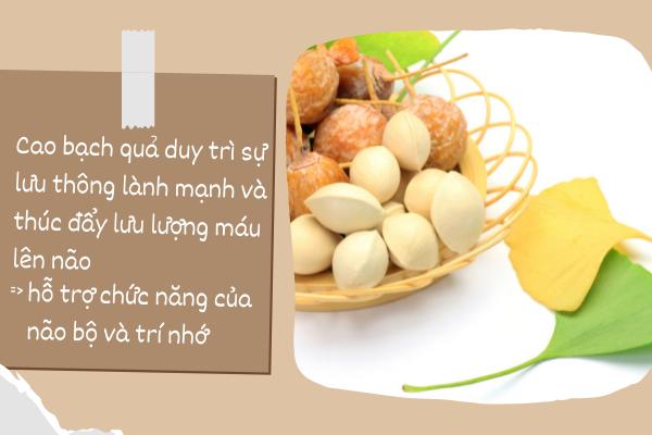 thực phẩm tốt cho trí nhớ